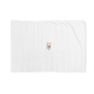 白ねこ公式キャラクター Blankets