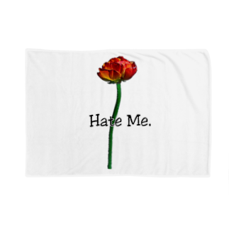 Lil'Tyler's Clothing.の「Hate Me FLOWER」 Blankets