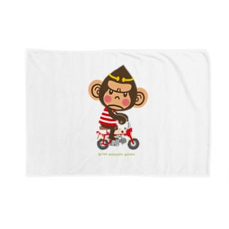 """ドングリ頭のチンパンジー""""Monkey"""" Blankets"""