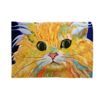Orange Calcite Cat(オレンジ カルサイト キャット) Blankets