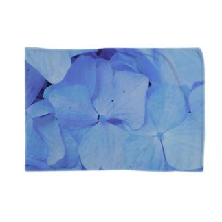 青い紫陽花 Blankets