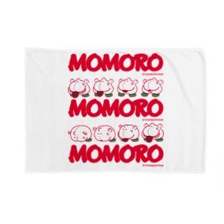 MOMOROS(WHITE) Blankets