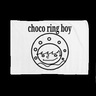 チョコリングボーイのお店のchoco ring boy / type-A Blankets