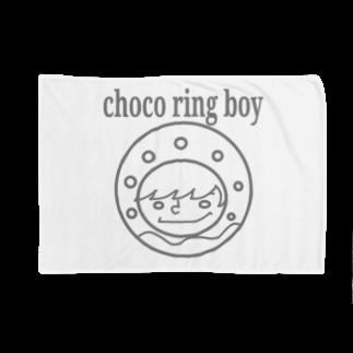 チョコリングボーイのお店のchoco ring boy / type-C Blankets