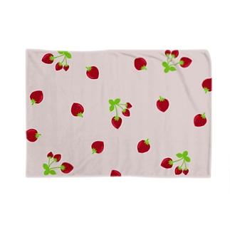 苺いっぱいブランケット🍓 Blankets