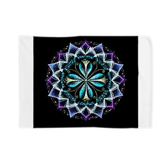 静謐﹣点描曼荼羅 Blankets