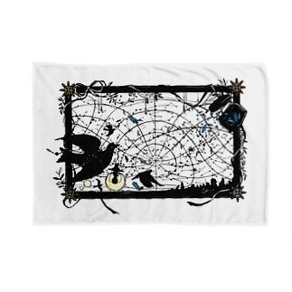 切り絵 / 航海士 Blankets