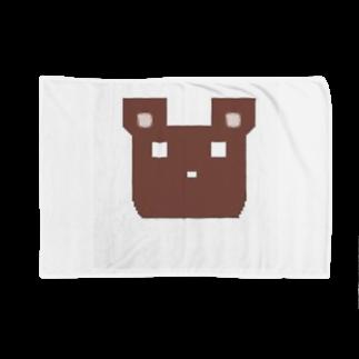ninhamuのかくかくくま Blankets