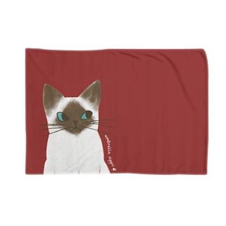 シャム猫のいっちゃん Blankets