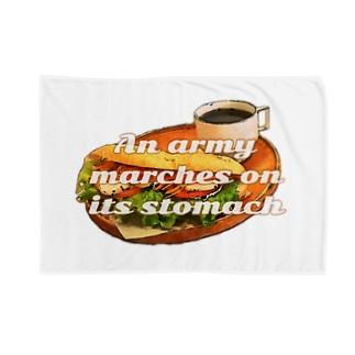 サンドイッチで休憩を Blankets