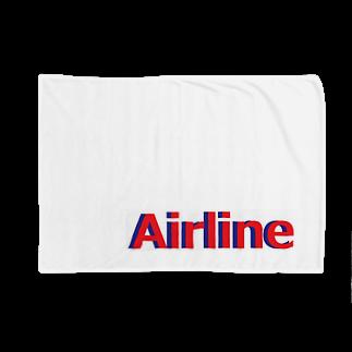 アメリカンベースのエアライン Blankets