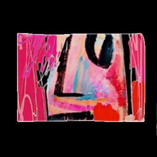 FRESH⭐︎DRAWING 2020のさくら色のportrait Blankets