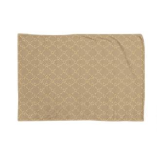 LOGO - cream Blankets