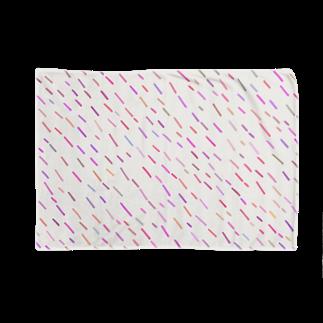 SANKAKU DESIGN STOREのハッピーPOPピンクA。 Blankets
