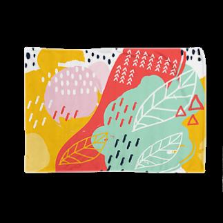 SANKAKU DESIGN STOREの南国fruitsモダンアート。 Blankets