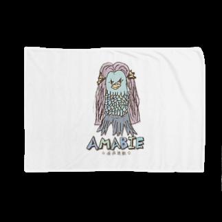 無彩色デザイン販売所のChildren's Art / AMABIE アマビエ Blankets