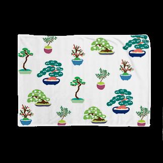Nishihiroのカラフル盆栽 Blankets