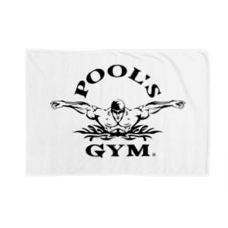 POOL'S GYM Blankets