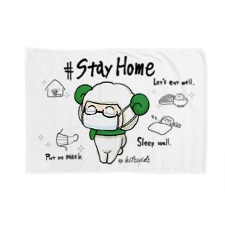 #ひつじです StayHome Blankets