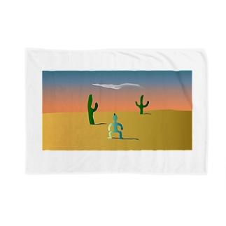 砂漠に1人佇む Blankets