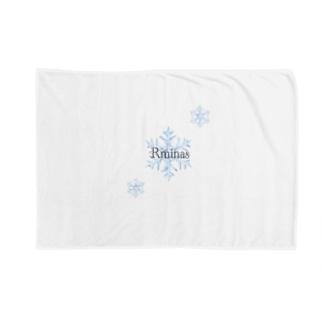 RminasのRminas 雪の結晶 Blankets