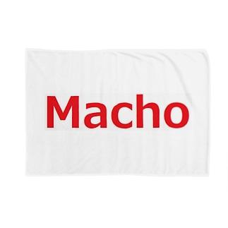 アメリカンベースのマッチョ Blankets