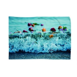 波打ち際の薔薇たち Blankets