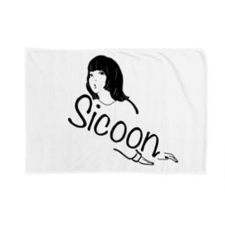 Sicoon girl シリーズ Blankets