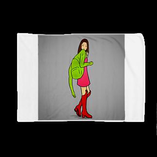 森本大百科の着るタイプのリュック Blankets