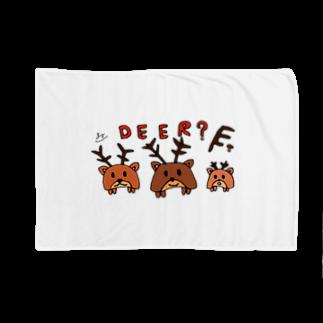 松岡雅士(마사시) きのこ 🍄の鹿? Blankets
