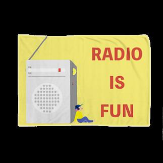ナントカのRADIO IS FUN Blankets