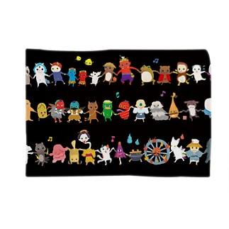 おばケット<妖怪ラインダンス> Blankets
