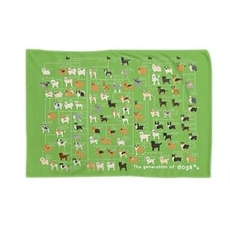 犬の系統図 Blankets