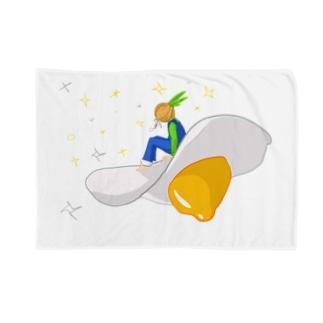卵UFO Blankets