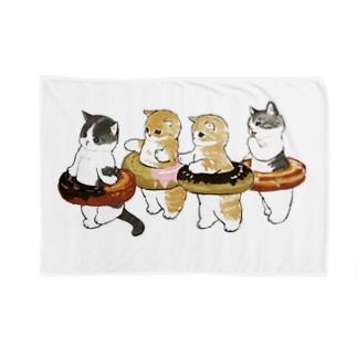 ドーナッツにゃん Blankets