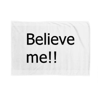 Believe me!! Blankets