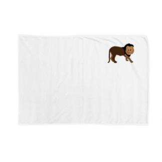 ライオン Blankets
