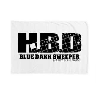 I.gasu🄬アイガスワールドのブルーダックスイーパーメンズ Blankets
