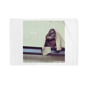 オランウータンマリア Blankets