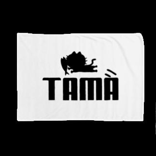ひよこねこ ショップ 1号店のTAMA (PUMAパロディ) Blankets