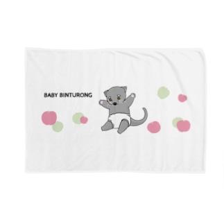 ベビー ビントロング ~りんごといっしょ~ Blankets