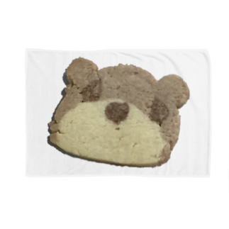クマバチゴルフ倶楽部のクマさんクッキー Blankets