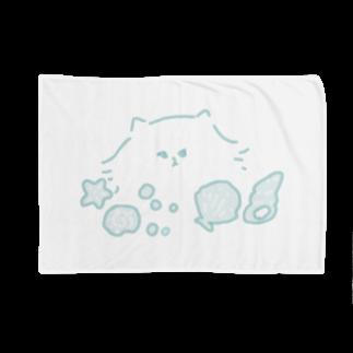nascos.の貝殻ねこ Blankets