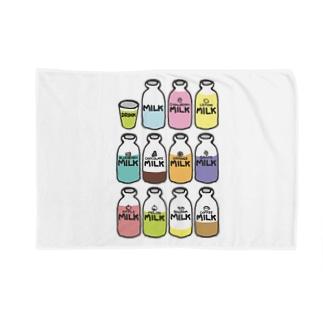 らくがきシリーズ『イロイロみるく』カラフル Blankets