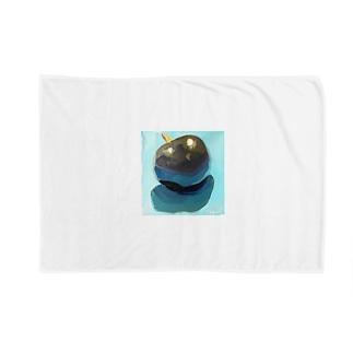 Yuri_Paintingのブラックプラム Blankets