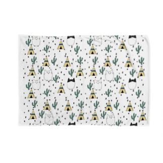 ネココ サバク Blankets