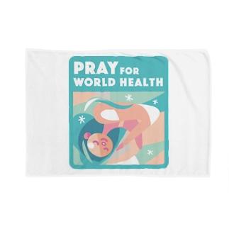 眠り・世界の健康 Blanket