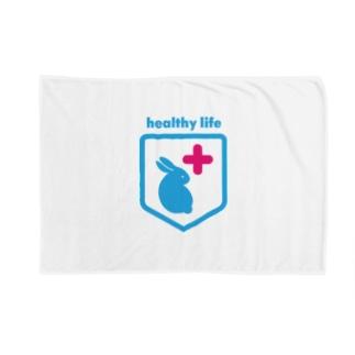 うさぎの健康を考える Blankets