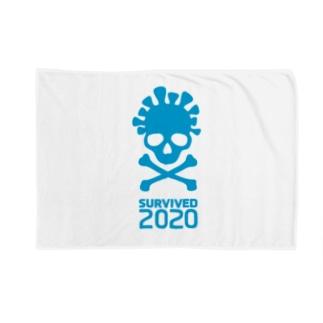 Survived 2020 (Blue) Blanket