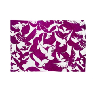鳥・赤紫 Blankets